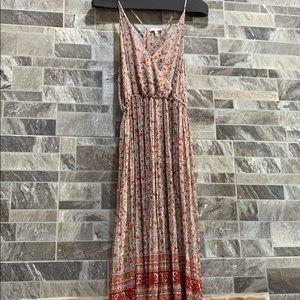 Joie 100% silk maxi dress